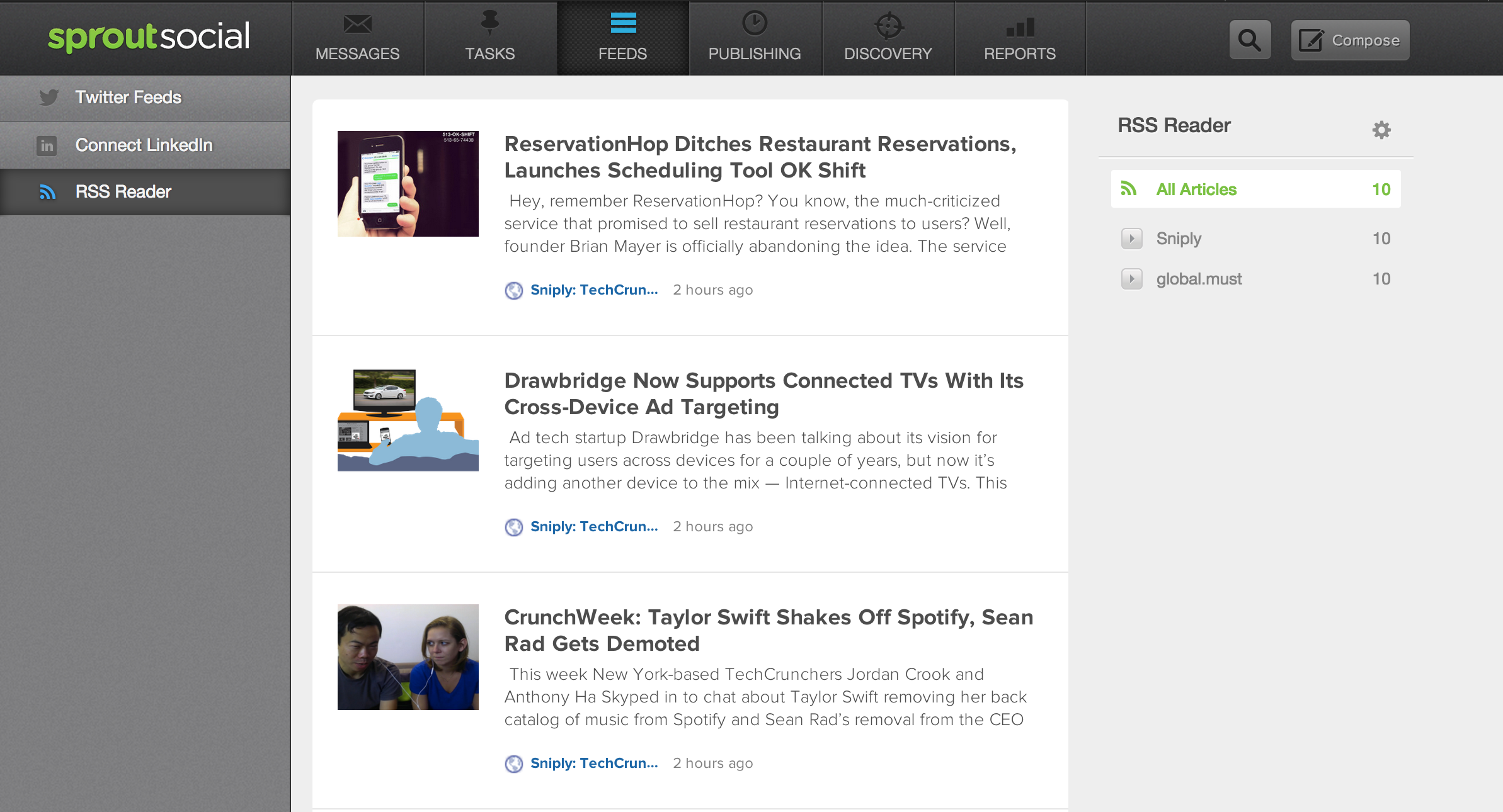 Sprout Social Media Software | Sniply